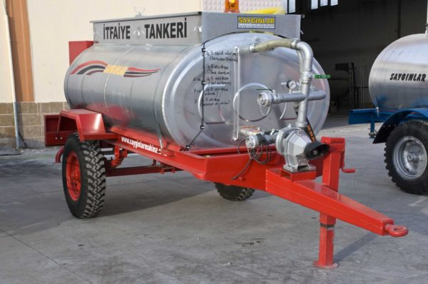 Fire Extinguisher and Water Tanker.
