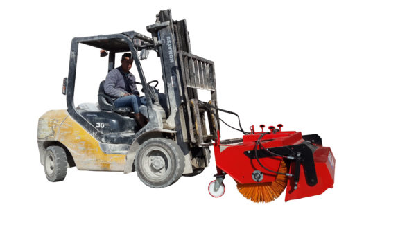 Forklift Mounted Road Sweeper