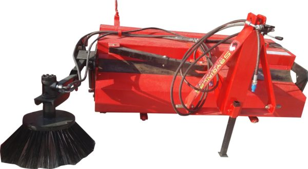 road sweeper with side brush